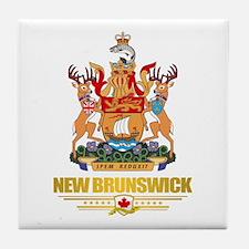 New Brunswick COA Tile Coaster