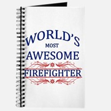 World's Most Awesome Firefighter Journal