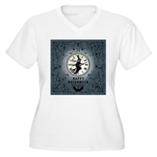 Modern Vintage Halloween Witching Hour Plus Size T