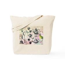 Vintage French Garden tea party Tote Bag
