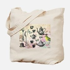 Vintage French Garden tea party Tote Bag
