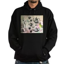 Vintage French Garden tea party Hoodie