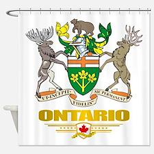 Ontario COA Shower Curtain