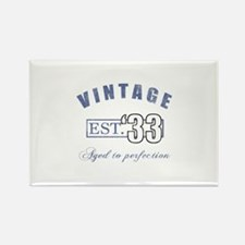 1933 Vintage Est. Rectangle Magnet