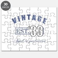 1933 Vintage Est. Puzzle