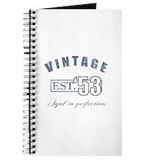 1953 Vintage Est. Journal