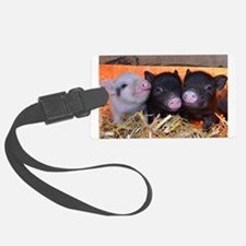 THREE LITTLE PIGS Luggage Tag
