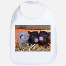 THREE LITTLE PIGS Bib