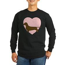 Dachshund Heart T