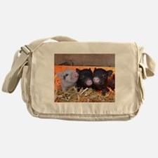 Three Little Piggies Messenger Bag