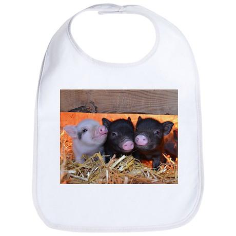 Three Little Piggies Bib