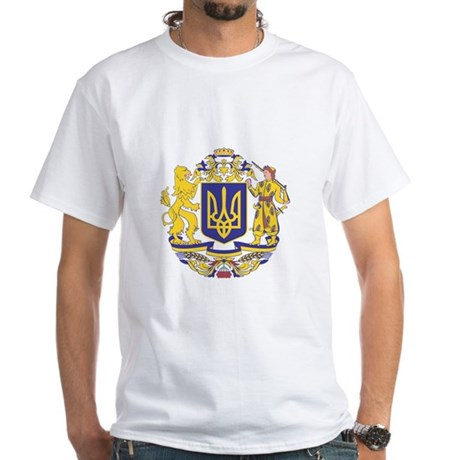 Ukraine arms with name T-Shirt