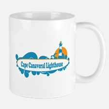 Cape Canaveral - Surf Design. Mug
