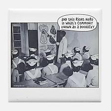 Nursing Class Doohicky Tile Coaster