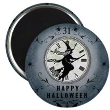 Modern Vintage Halloween Witching Hour Magnet