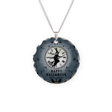 Modern Vintage Halloween Witching Hour Necklace