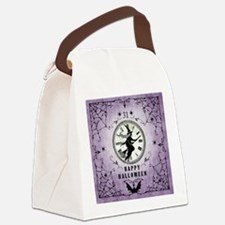 Modern Vintage Halloween Witching Hour Canvas Lunc
