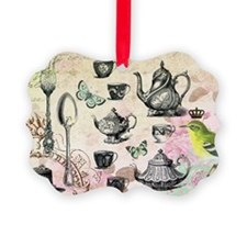 Vintage French Garden tea party Ornament
