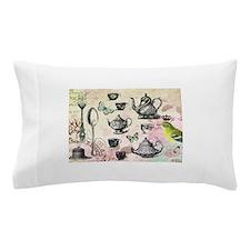 Vintage French Garden tea party Pillow Case