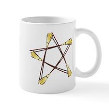 Besom Pentagram.png Mug