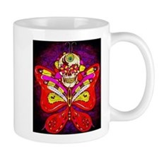 Skull with Butterfly Wings! Mug