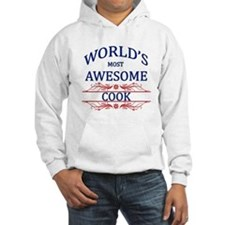 World's Most Awesome Cook Hoodie