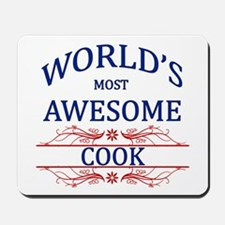 World's Most Awesome Cook Mousepad