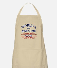 World's Most Awesome Cook Apron