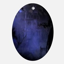 Haunted Hill House Ornament (Oval)