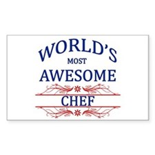 World's Most Awesome Chef Decal