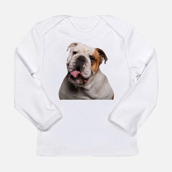 Bulldog Long Sleeve Infant T-Shirt