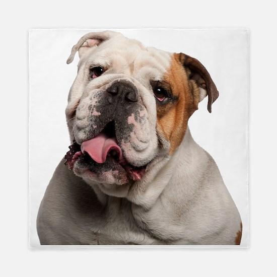 Bulldog Queen Duvet
