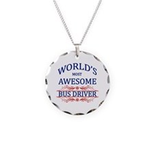World's Most Awesome Bus Driver Necklace