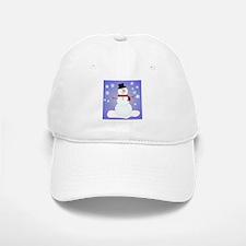 SNOWMAN Baseball Baseball Cap