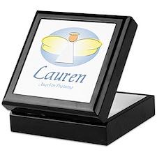 Angel-in-Training - Lauren Keepsake Box