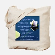 The Beatitudes Tote Bag