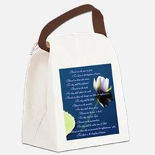 The Beatitudes Canvas Lunch Bag