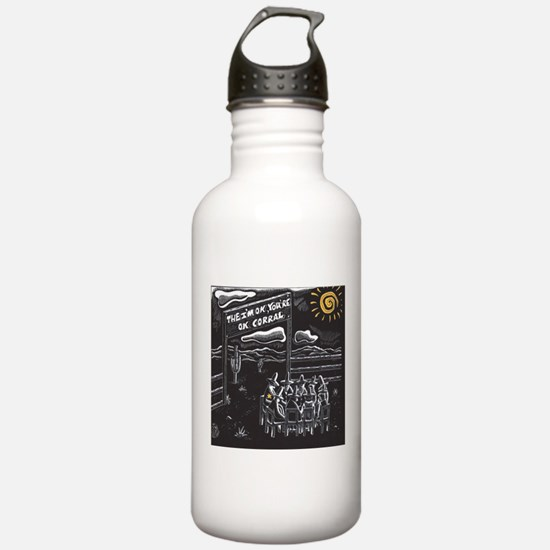 The I'm OK You're OK Corral Water Bottle