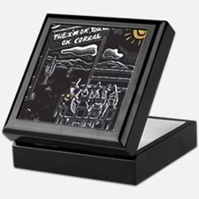The I'm OK You're OK Corral Keepsake Box