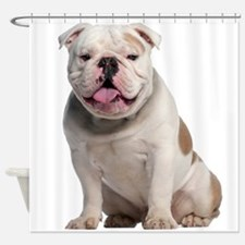 Bulldog Shower Curtain