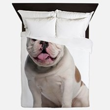 Bulldog Queen Duvet