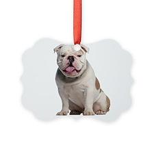 Bulldog Picture Ornament