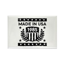 Made In USA 1985 Rectangle Magnet