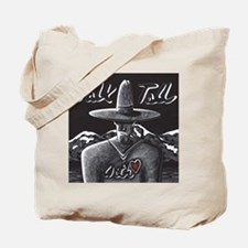 Walk Tall With Heart Tote Bag