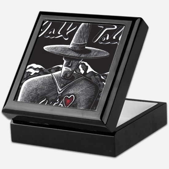 Walk Tall With Heart Keepsake Box
