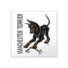 Manchester Terrier - Cropped Sticker