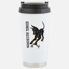 Manchester Terrier - Cropped Travel Mug