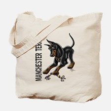 Manchester Terrier - Cropped Tote Bag