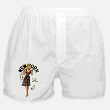 Vintage New York Pinup Boxer Shorts