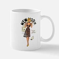 Vintage New York Pinup Mug